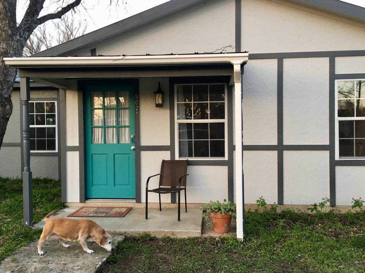 Our Airbnb in Fredericksburg, Texas