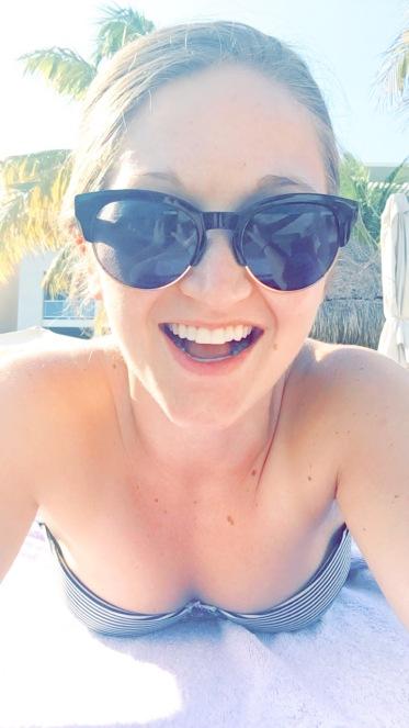 Lounging by the pool at Paradisus La Perla, Playa Del Carmen