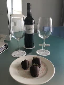 A treat in our room at Paradisus La Perla, Playa Del Carmen