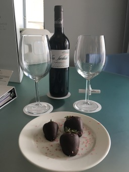 A treat in our room at Paradisus La Perla, Playa Del Carmen