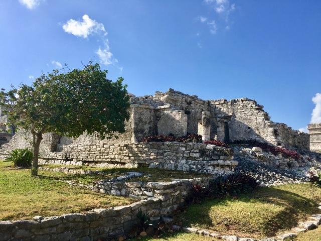 The ruins in Tulum, Mexico