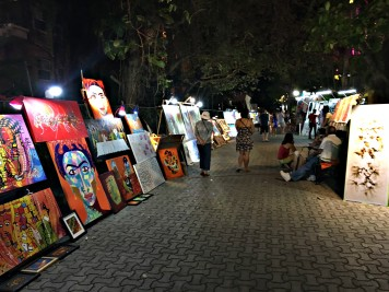 Art on 5th street in Playa Del Carmen, Mexico