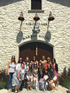 The Bride Tribe at VJB Winery in Sonoma, Ca