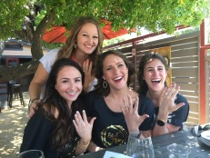 Having fun at Roche Winery in Sonoma, CA