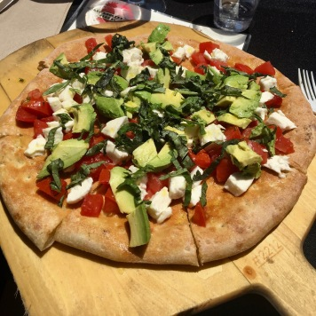 Pizza at VJB Winery in Sonoma, Ca