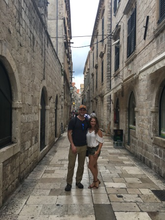 Touring Old Town in Dubrovnik, Croatia