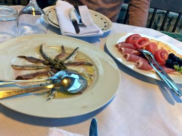 Dinner at Stori Komin on the island of Hvar, Croatia