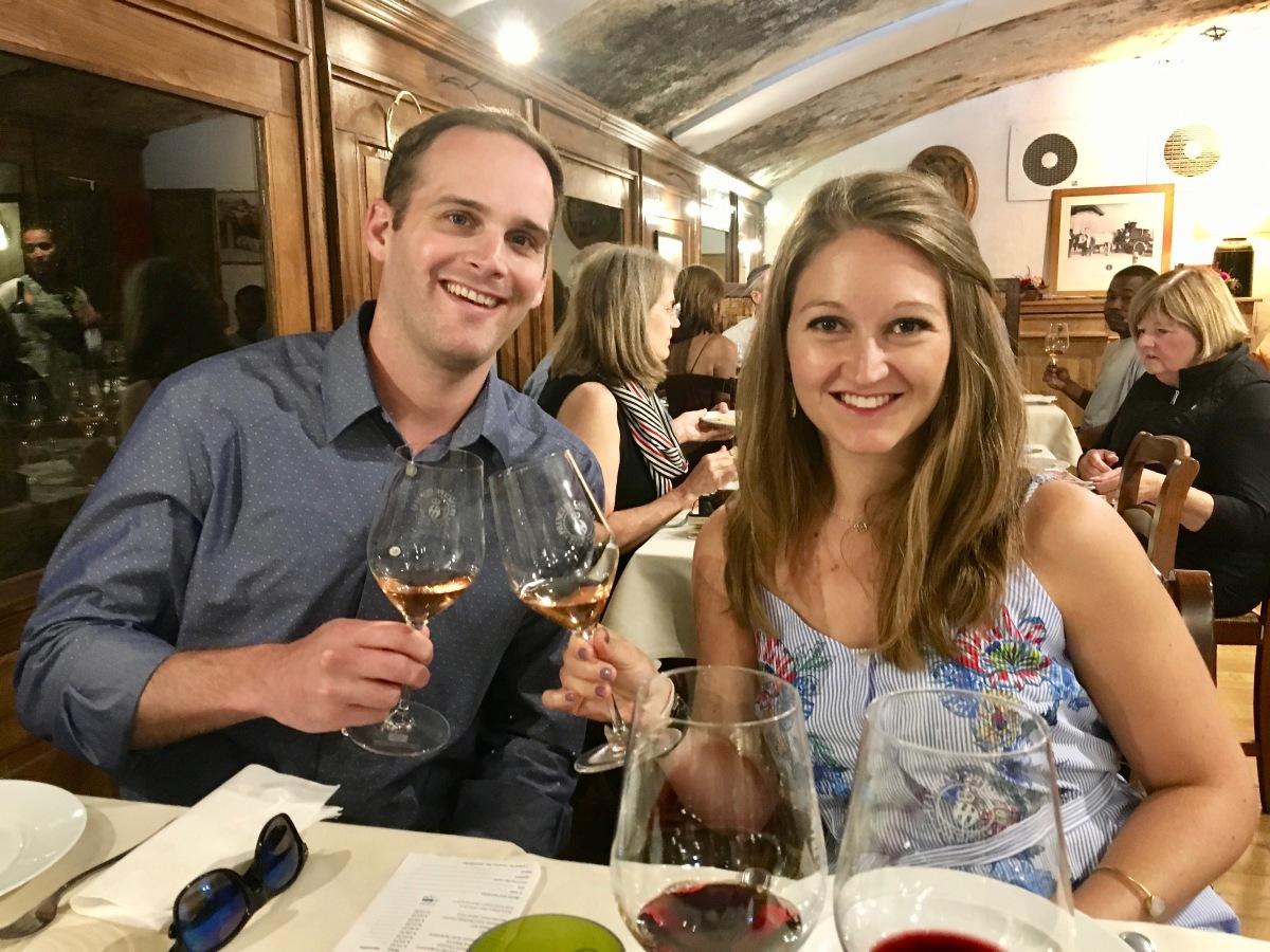 Cheers from Villa Li Cortiin Italy
