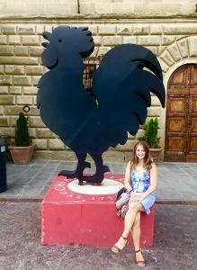 The Chianti Classico rooster