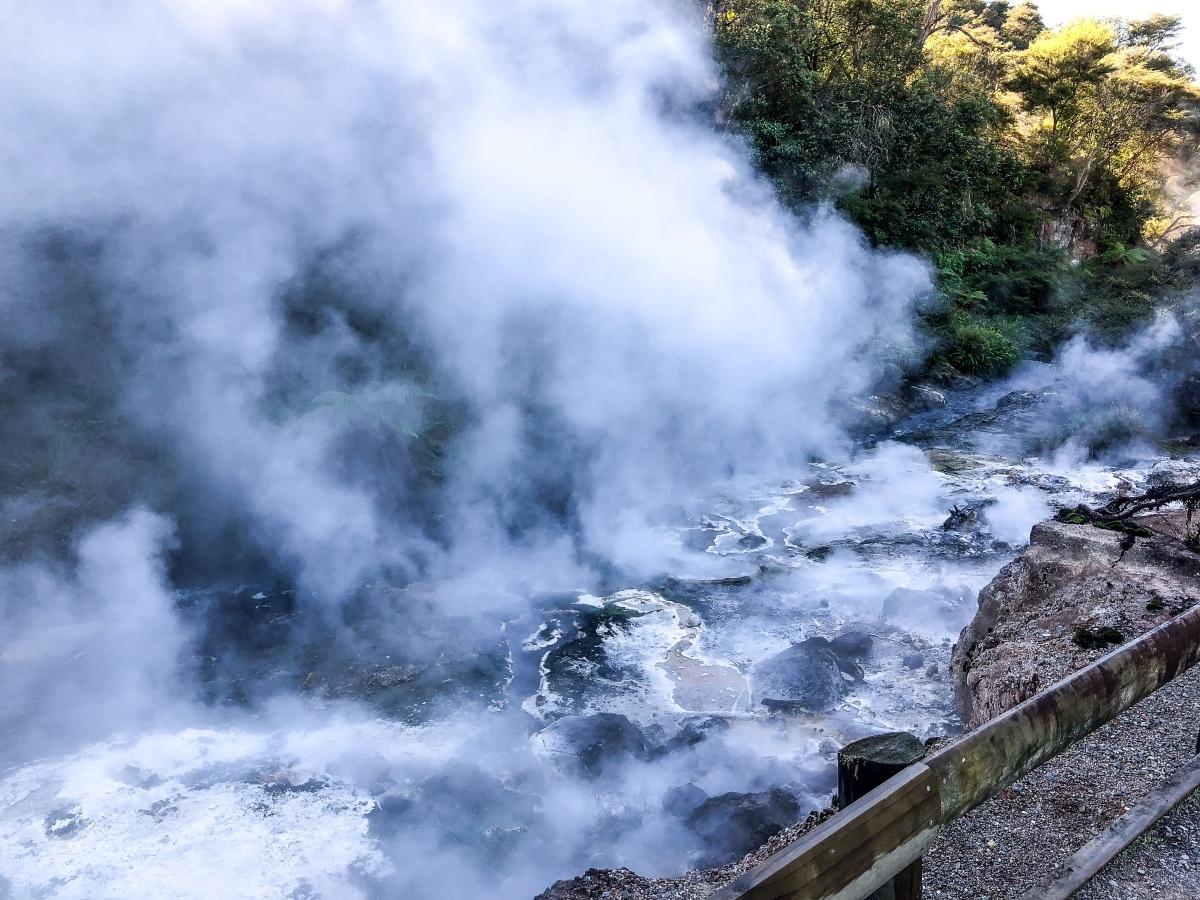 Waimangu Volcanic Rift Valley, New Zealand
