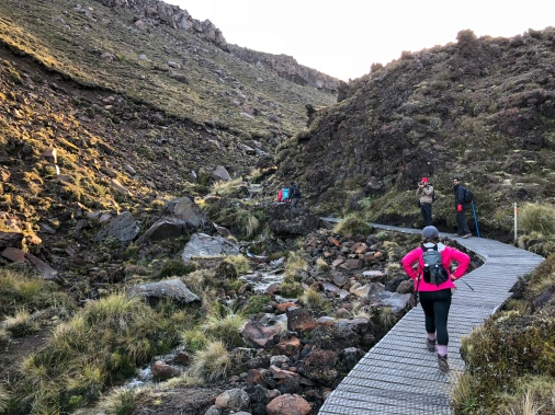 Hiking the Tongariro Alpine Crossing, New Zealand