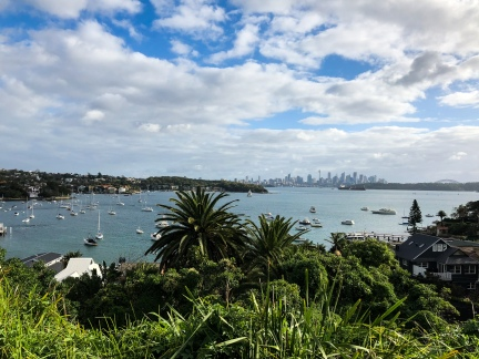 The view of Sydney from Watsons Bay, Australia