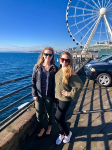 The harbor in Seattle, Washington