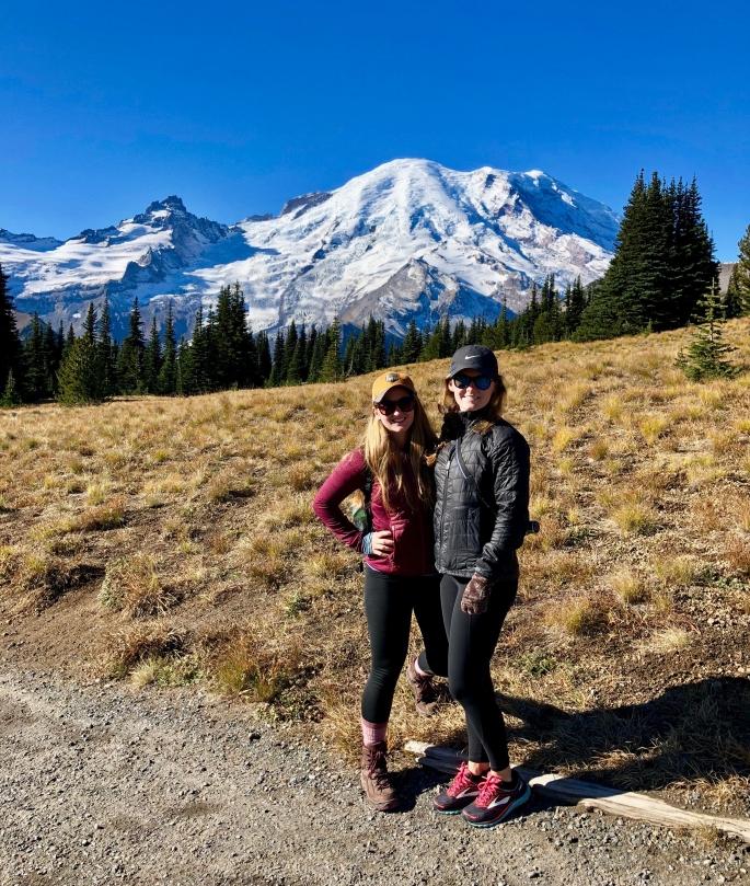 Hiking Mt. Rainier in Washington