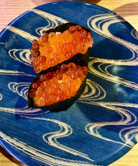 Sushi dinner in Japan