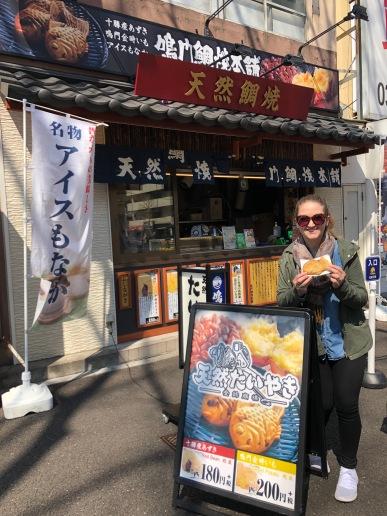 Snack time in Tokyo, Japan