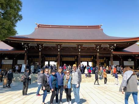 Touring Tokyo, Japan