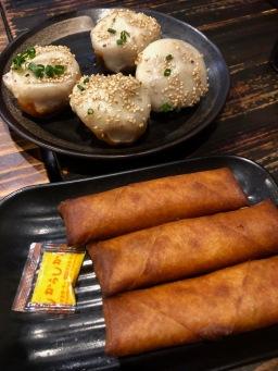 Soup Dumplings & Spring Rolls in Tokyo, Japan