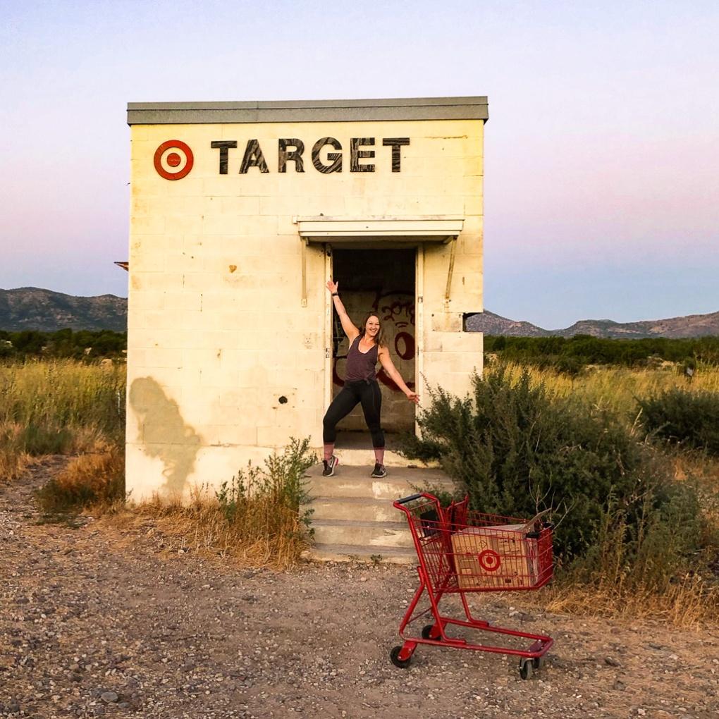 Target by Marfa, Texas