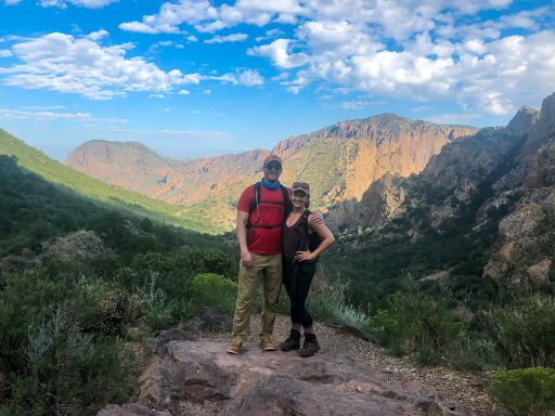 Hiking the Lost Mine Trail in Big Bend National Park, Texas