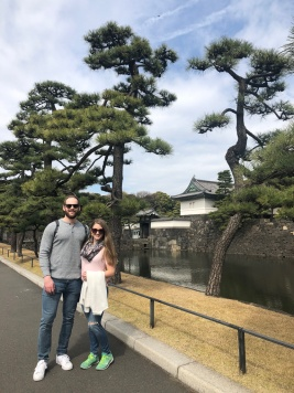 Exploring the Imperial Palace in Tokyo, Japan