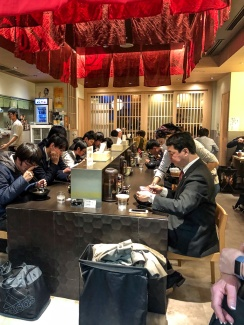 Lunch spot in Tokyo Station