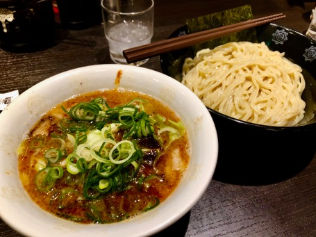 Dipping ramen lunch