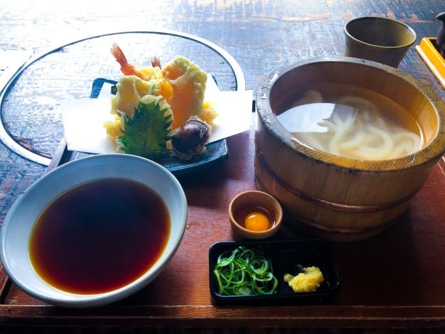 Lunch in Osaka, Japan