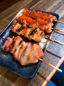 Dinner in Osaka, Japan