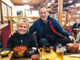 Lunch in Mt. Koya, Japan
