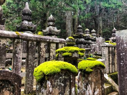 Exploring Okunoin Cemetery in Mt. Koya, Japan