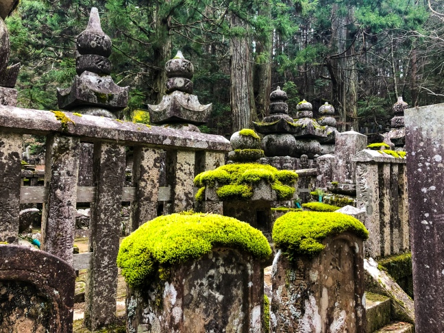 Exploring Okunoin Cemetery in Mt. Koya, Japan