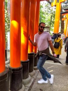 Tori Gate shrine (Fushimi Inari Shrine), Japan