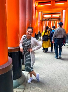 Tori Gate shrine (Fushimi Inari Shrine), Japan